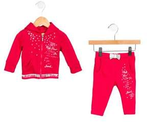 John Galliano Girls' Printed Pant Set