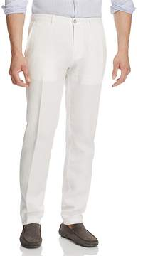 BOSS Crigan Linen Straight Fit Pants