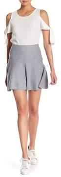 1 STATE 1.State Flounce Knit Mini Skirt