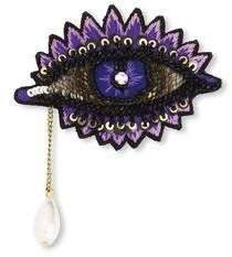 Forest of Chintz Eye Spy brooch