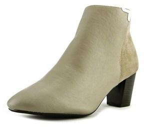 Karen Scott Gahriet Round Toe Synthetic Ankle Boot.