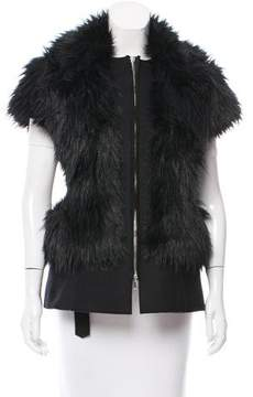CNC Costume National Faux Fur Vest