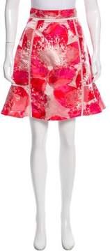 ABS by Allen Schwartz Jacquard Knee-Length Skirt