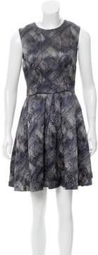Cynthia Rowley Jacquard A-Line Dress