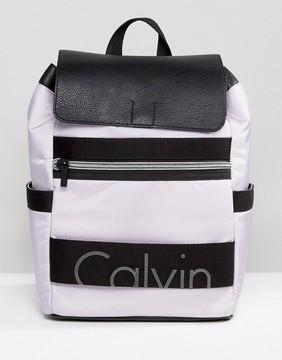 Calvin Klein Logo Backpack
