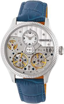 Heritor Winthrop Automatic Silver Dial Men's Watch