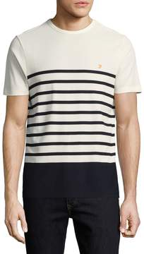 Farah Men's Hampstead Cotton Striped Tee