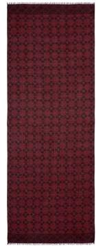 Isaia Mixed check cashmere-wool scarf