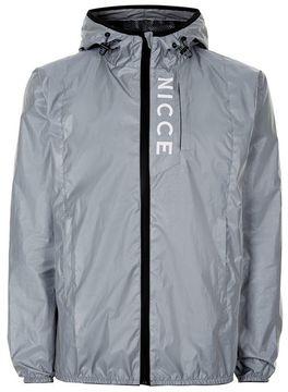 Nicce Silver Reflective 'Vind' Jacket