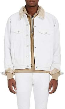 Fear Of God Men's Sherpa-Lined Denim Trucker Jacket