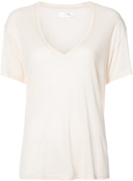 Anine Bing plunging V-neck T-shirt