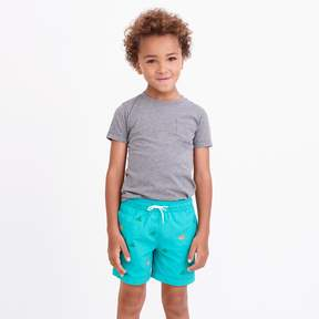 J.Crew Factory Boys' critter swim trunk