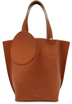 Roksanda Eider Pebbled Leather Tote - Womens - Tan