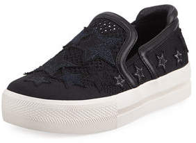 Ash Jeday Knit Skate Sneakers with Stars