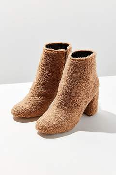 Urban Outfitters Timber Faux Sherpa Ankle Boot