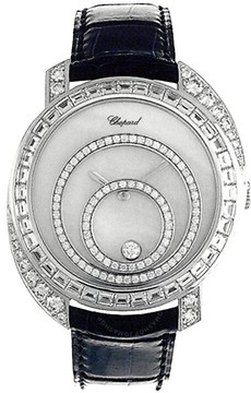 Chopard Happy Spirit Diamond Mother of Pearl Dial 18k White Gold Ladies Watch