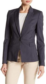 BOSS Jifabio Stripe Stretch Wool Suit Jacket