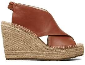 Kenneth Cole Women's Ona Leather Espadrille Wedge Sandal.