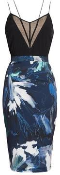 Chelsea28 Women's Strappy Print Dress
