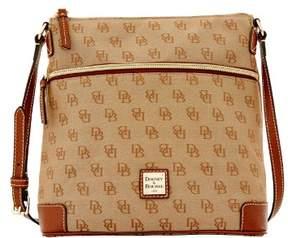 Dooney & Bourke Madison Signature Crossbody Shoulder Bag - AMBER - STYLE