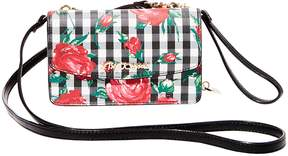 Betsey Johnson GINGHAM STYLE 2 IN 1 CROSSBODY