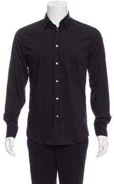 CNC Costume National Woven Button-Up Shirt