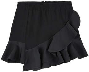 Little Remix Crepe skirt with flounces