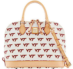 Dooney & Bourke NCAA Virginia Tech UniversityZip Zip Satchel - ONE COLOR - STYLE