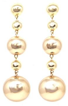 Ettika Women's Ball Drop Earrings