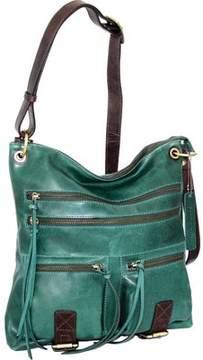 Nino Bossi Iliana Leather Crossbody Bag (Women's)