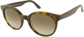 Tommy Hilfiger Sunglasses - Th1242S / Frame: Havana With Brown Temples Lens: Brown Gradient