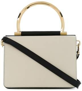 Salvatore Ferragamo colour block shoulder bag