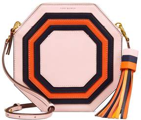 Tory Burch GEO CROSS-BODY - BALLET PINK OCTAGON SQUARE - STYLE