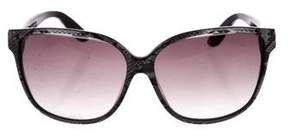 Jimmy Choo Cass Gradient Sunglasses