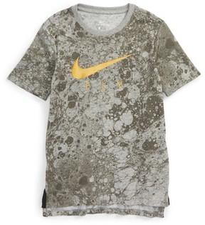 Nike Boy's Dry Lunarfly Droptail T-Shirt