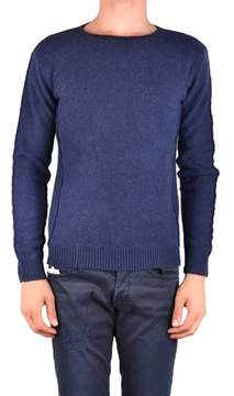 Massimo Rebecchi Men's Mcbi203030o Blue Wool Sweater.