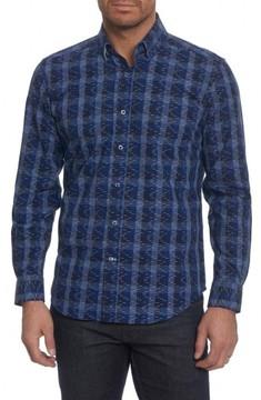 Robert Graham Men's Levy Regular Fit Print Sport Shirt