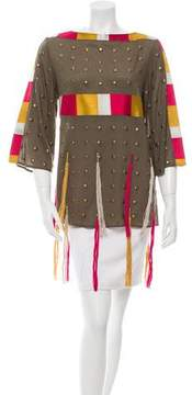 Figue Embellished Embroidered Tunic