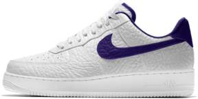 Nike Force 1 Premium iD (Los Angeles Lakers) Shoe