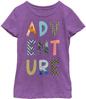 Fifth Sun Purple Berry 'Adventure' Tee - Girls