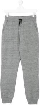 DKNY Teen logo print track pants
