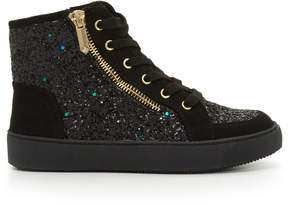 Sam Edelman Girls Britt High-Top Sneaker