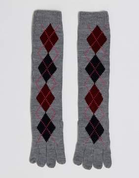 Asos Long Argyle Gloves