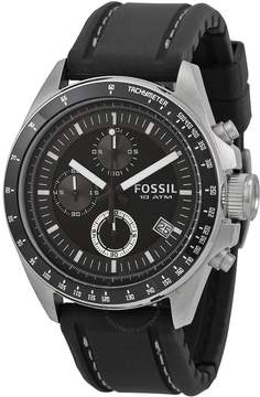 Fossil Dexter Black Dial Chronograph Men's Watch