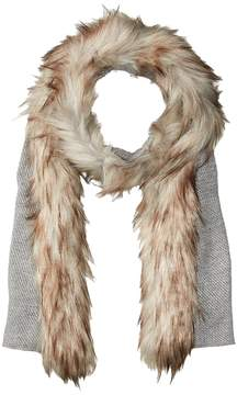 Lauren Ralph Lauren Coyote Trimmed Scarf with Lurex Scarves