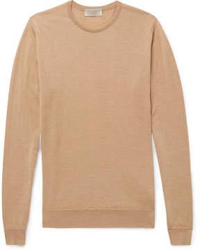John Smedley Norland Cashmere And Silk-Blend Sweater