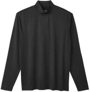 Joe Fresh Men's Thermal Turtleneck, JF Black (Size S)
