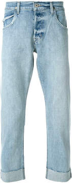 Hudson rolled cuff jeans