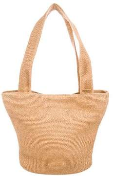 Eric Javits Canvas-Trimmed Squishee Tote
