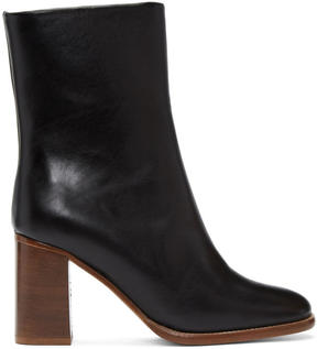A.P.C. Black Flavie Boots
